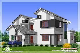 Shotgun House Design 2912 Sq Feet 5 Diffrent Type House Designs Kerala Home Design