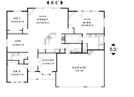 great room house plans one story winsome inspiration 4 single story house plans with great room
