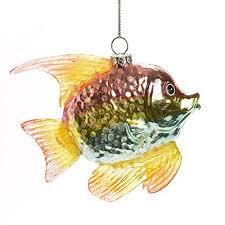 fish ornaments tree