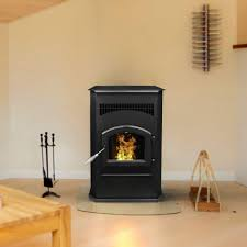 pleasant hearth 2 200 sq ft pellet stove with 120 lb hopper and