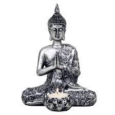buddha statue buddha ornament tealight holder buddha gifts uk
