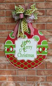 ornament door hanger large door hangers