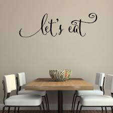 online shop wall quotes decals let u0027s kitchen quotes stickers