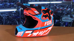 fox motocross gear for kids fox racing v3 youth motorcycle helmet review youtube