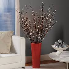 pre lit branches battery powered pre lit willow branches at brookstone buy now