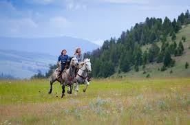 Montana How Far Can A Horse Travel In A Day images Horseback riding adventures explore riding vacations in montana jpg