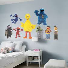 sesame street collection wall decal shop fathead for sesame
