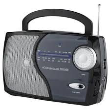 buy tesco 113b kitchen analogue radio black from our portable