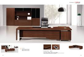 Wood Office Furniture by Latest Design Office Table Wood Office Furniture Luxury Boss Table