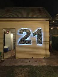 21st Party Decorations 10 Best 21st Birthday Decorations Images On Pinterest Balloon