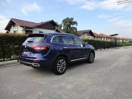 nissan almera monthly installment malaysia motoring malaysia test drive the renault koleos 2 5l renault