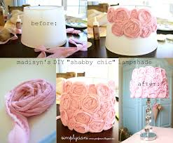 decoration captivating vintage rose paper lampshade the lovely