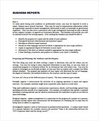 business report example 17 business report templates free sample