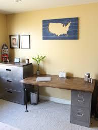 repurpose metal file cabinet filing cabinet desk diy hometalk voicesofimani com