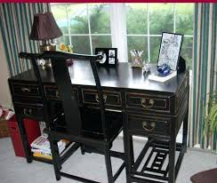 Chinese Desk Black Lacquer Desks Ruth U0027s Blog Antiques By Zaar