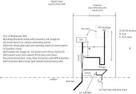 laundry sink plumbing diagram utility sink rough in height sink ideas