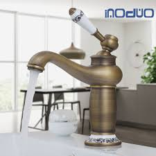 are brass bathroom fixtures out of style