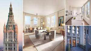 penthouse in the iconic woolworth building manhattan dubbed u0027the