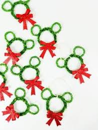 Christmas Decoration Crafts 7 Diy Mickey Mouse Christmas Ornaments Ornament Decorating And