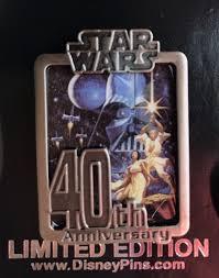 cast member star wars 40th anniversary pin disney pins blog