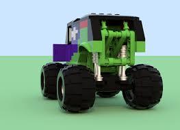 monster truck power wheels grave digger lego ideas monster jam ice cream man vs grave digger