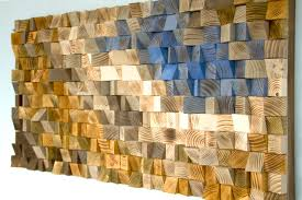 reclaimed wood wall wood mosaic geometric wood wall