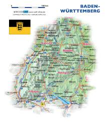 Germany Map Freiburg by Map Of Baden Wuerttemberg Germany Map In The Atlas Of The