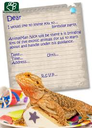 lizard birthday invitations free printable invitation design