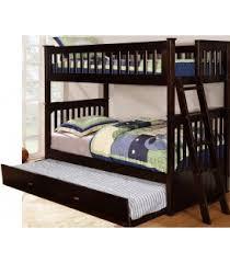 Student Desk Espresso Maranatha Furniture - Espresso bunk bed