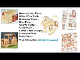 australian woodworking plans youtube