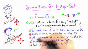 search tree for independent set solution intro to theoretical