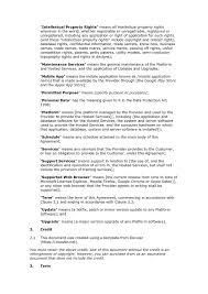 it support contract template with 5 staff contract template