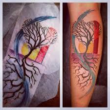 tree of shaped tree beautiful abstract