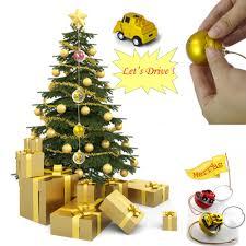 ingenious christmas tree decoration christmas balls mini rc car