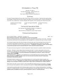 Medical Device Resume Cover Letter Assembler Resume Examples Assembler Resume Examples