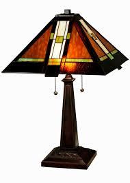 cool mission table lamps construction lamps decoration design ideas