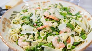 spring pasta salad with shrimp today com