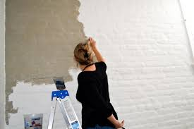 painting brick with chalk paint