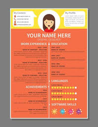 graphic design resume sample graphic designer resume template download free vector art stock