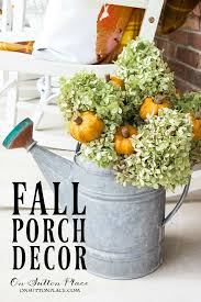 Pictures Of Front Porches Decorated For Fall - easy diy fall porch decor ideas on sutton place