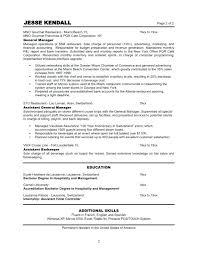 restaurant resume template resume of restaurant manager restaurant resume template restaurant