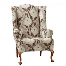 Wing Chair Slipcovers Slipcovered Wingback Chair Foter