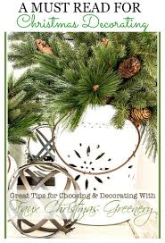 great tips for choosing and decorating with faux christmas