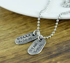 personalized mens necklaces personalized mens necklace gifts for him mens jewelry new