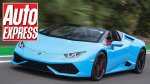 convertible lambo lamborghini huracan spyder review the best looking roadster on