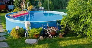 Backyard Above Ground Pool Ideas Fabulous Small Backyard Above Ground Pool Ideas 1000 Ideas About