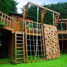 Playground Ideas For Backyard Totally Cool My Boys Would Love This Outside Spaces Pinterest