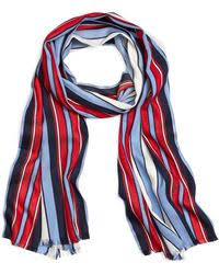 brooks brothers light blue red and white nautical stripe cotton
