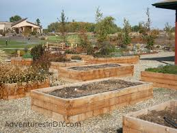 Raised Rock Garden by Raised Bed Gardening Ideas U2013 Adventures In Diy