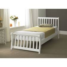 Bed Frame Simple Bedroom Furniture Wooden Bed With Headboard Slatted Headboards